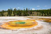 Chromatic Pool at Old Faithful Geyser Basin