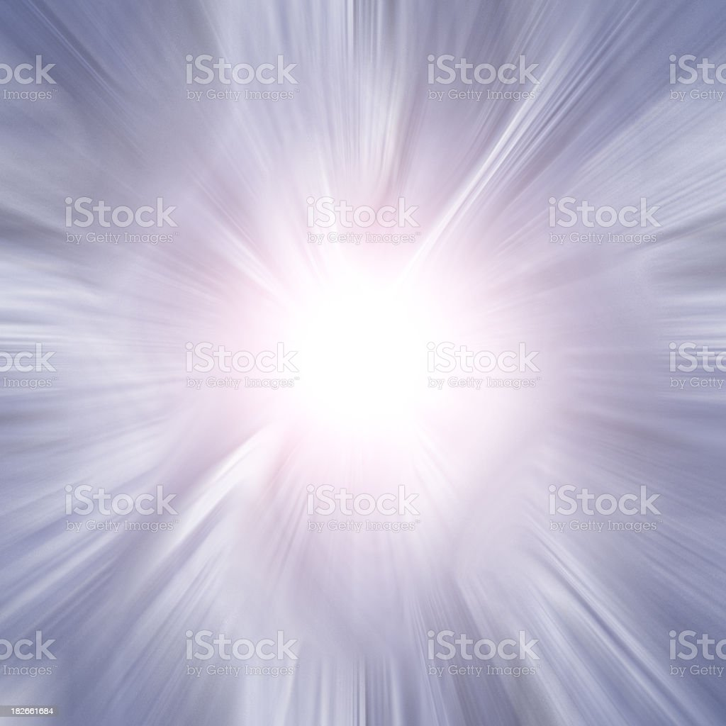 Chrome Burst royalty-free stock photo