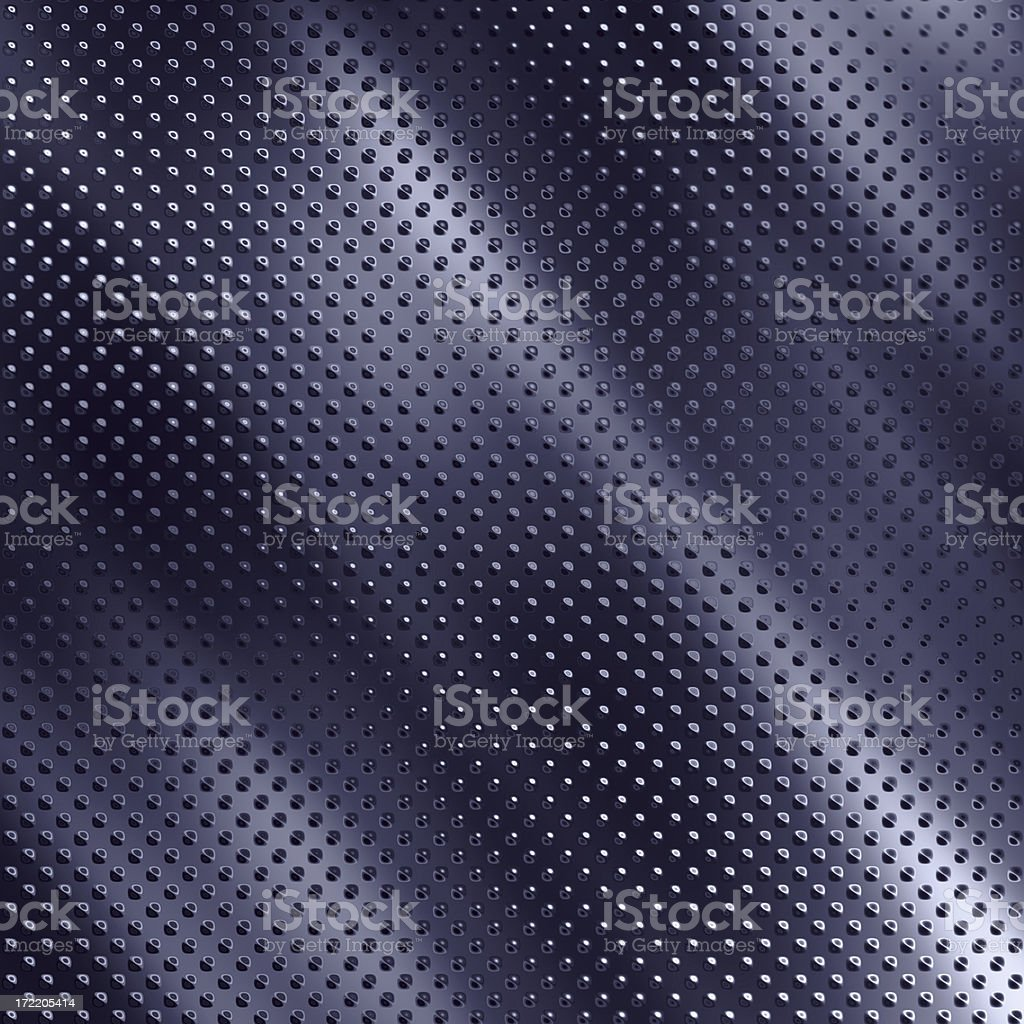 Chrome Dot Background royalty-free stock photo