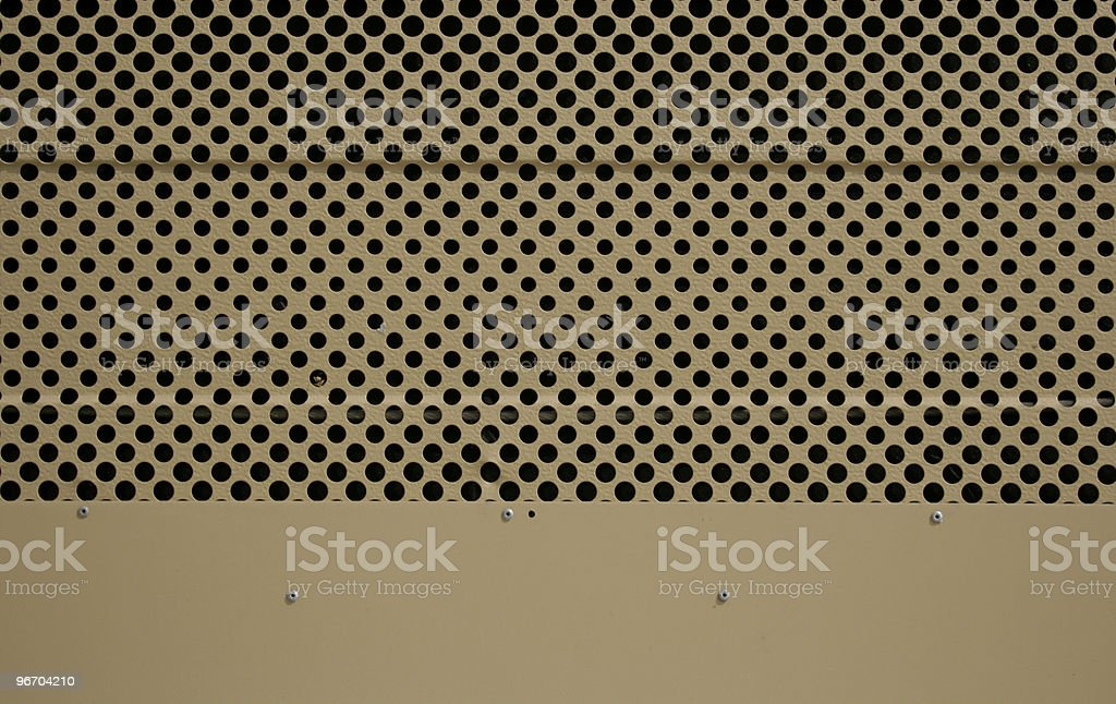 Chrome mesh royalty-free stock photo