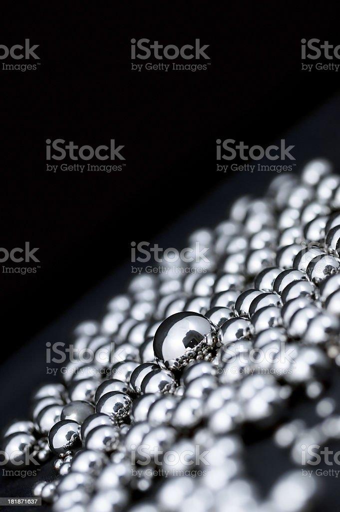 Chrome Spheres Abstract stock photo