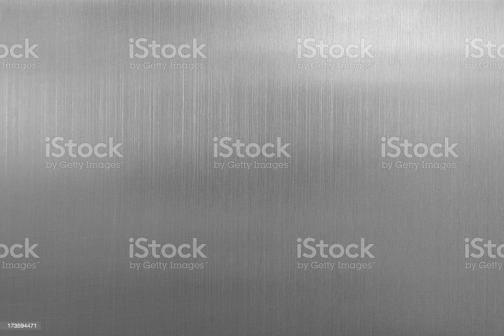 Chrome Surface Background stock photo
