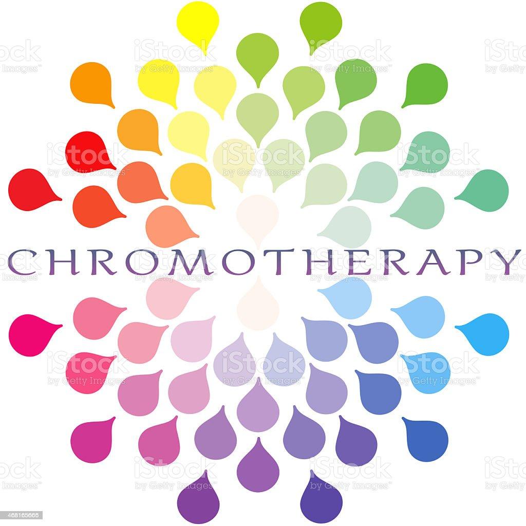 Chromotherapy stock photo