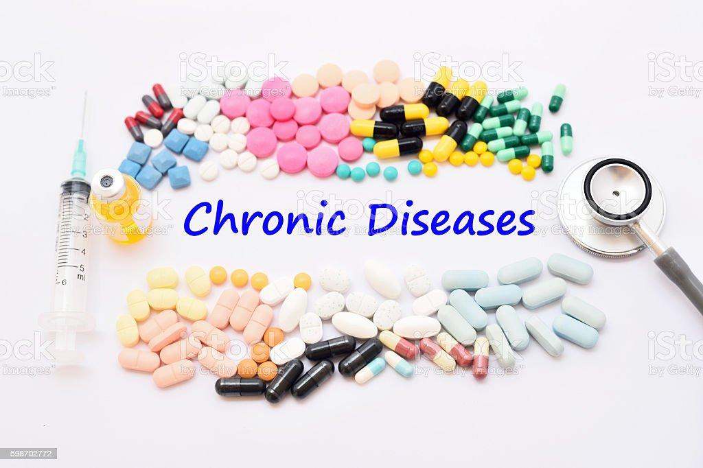 Chronic disease stock photo