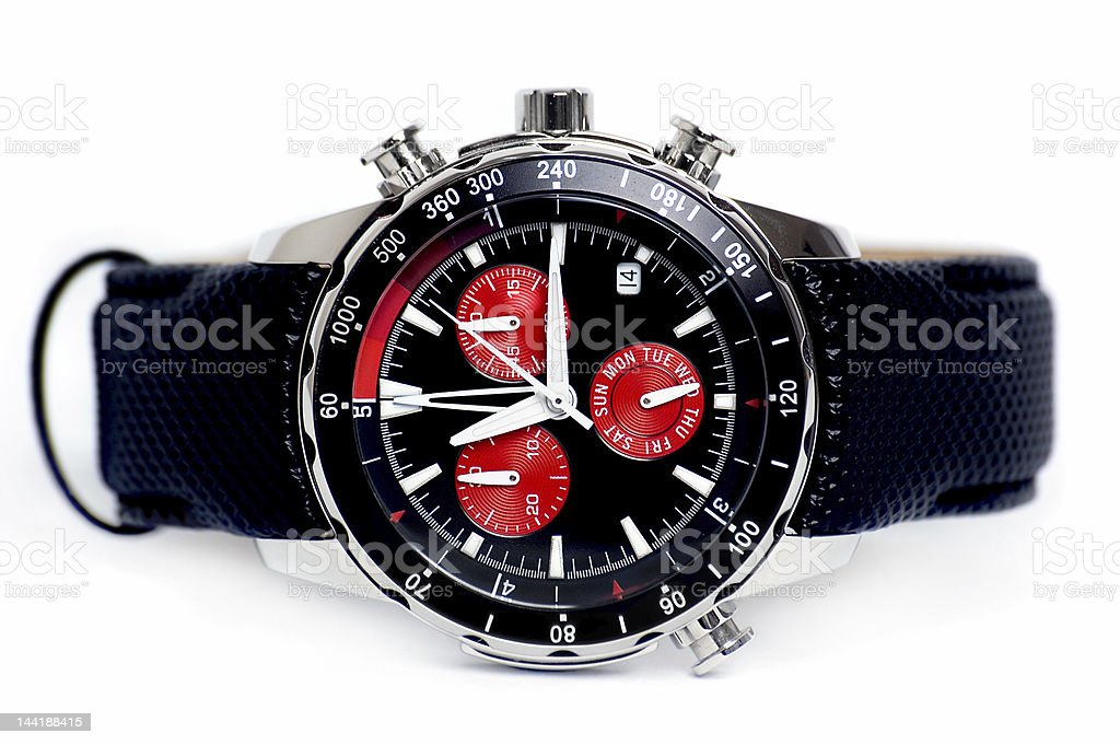 Chronograph watch royalty-free stock photo