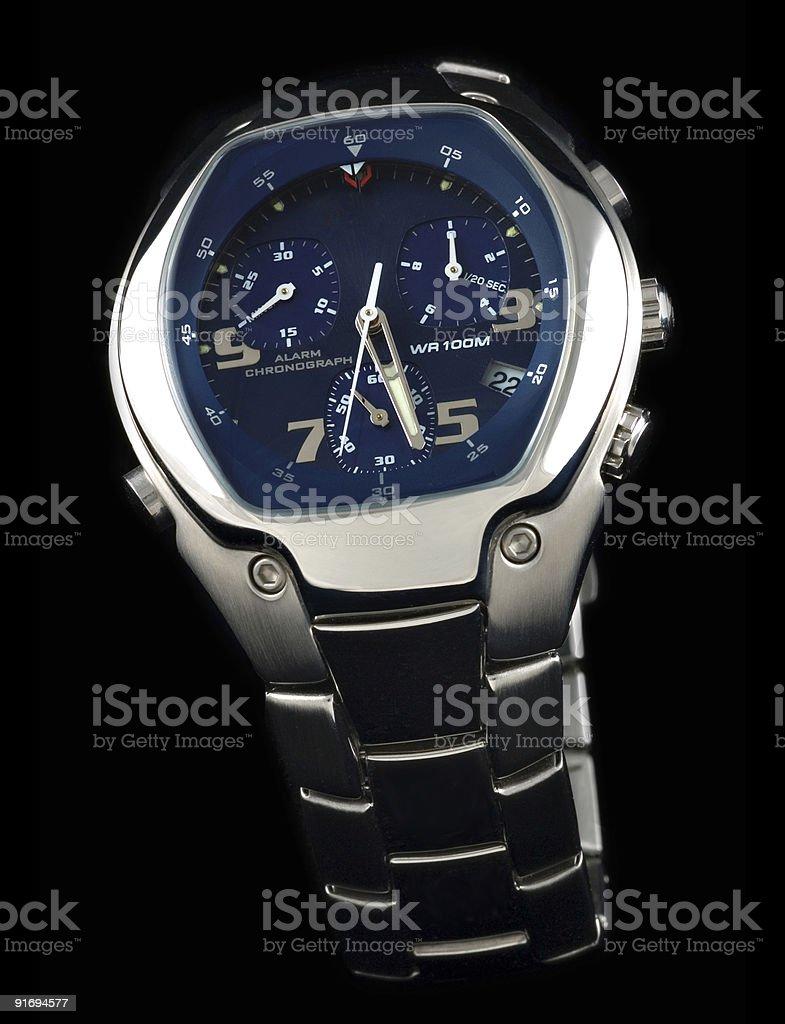 Chronograph Watch stock photo