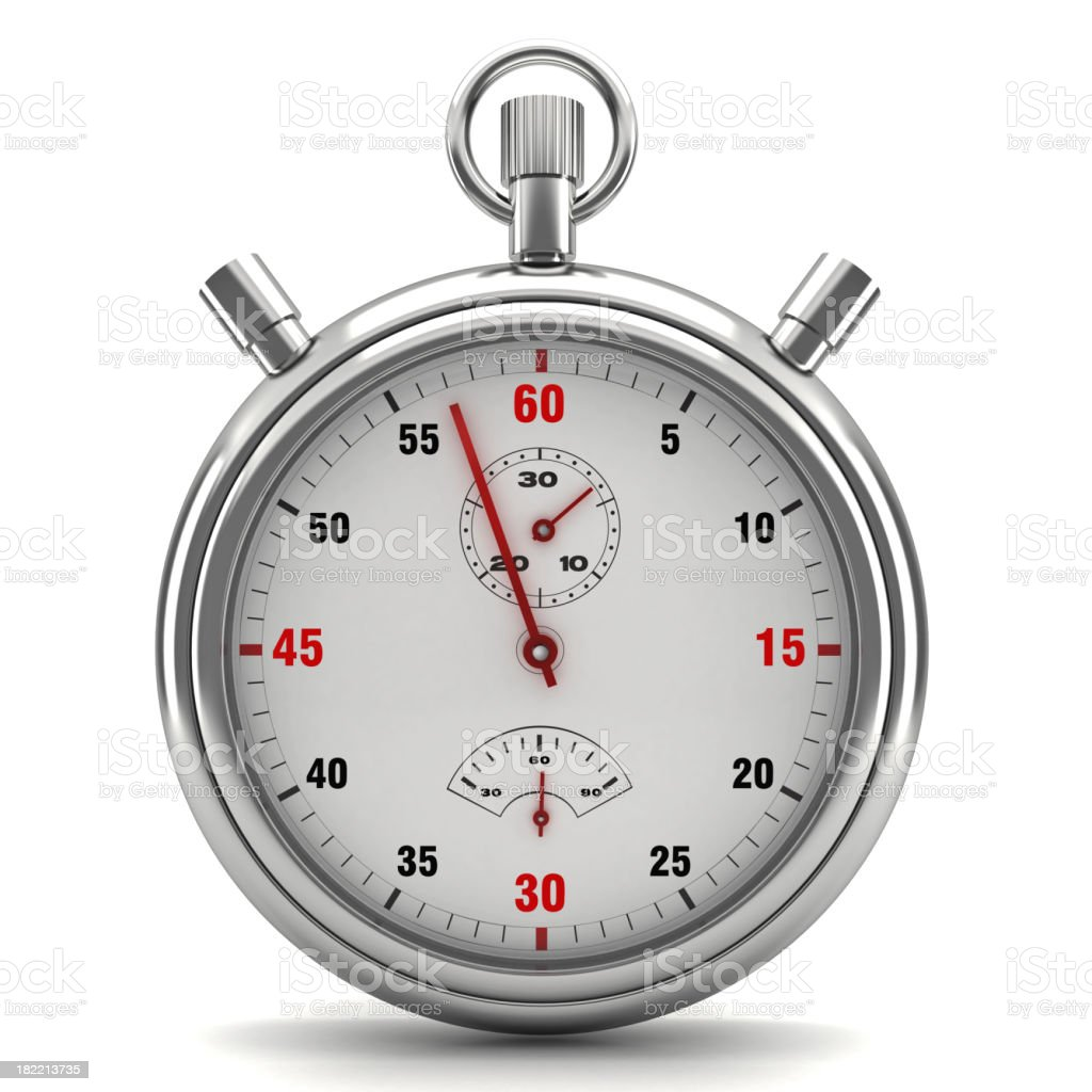 Chronometer stock photo