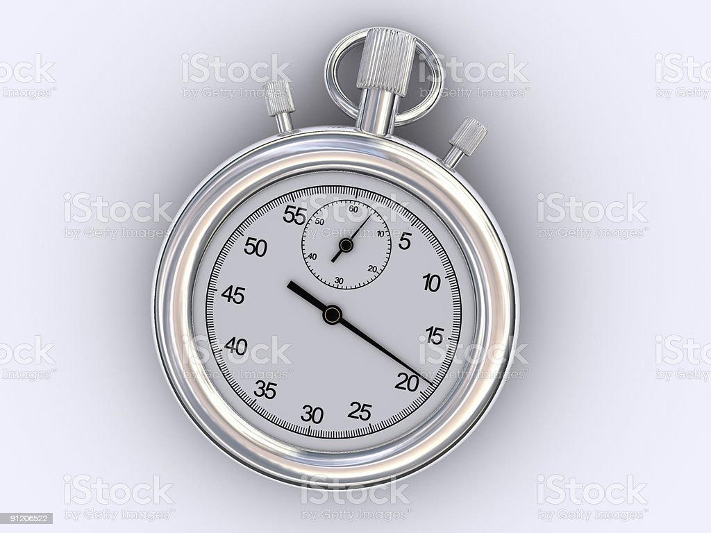 Chronometer royalty-free stock photo