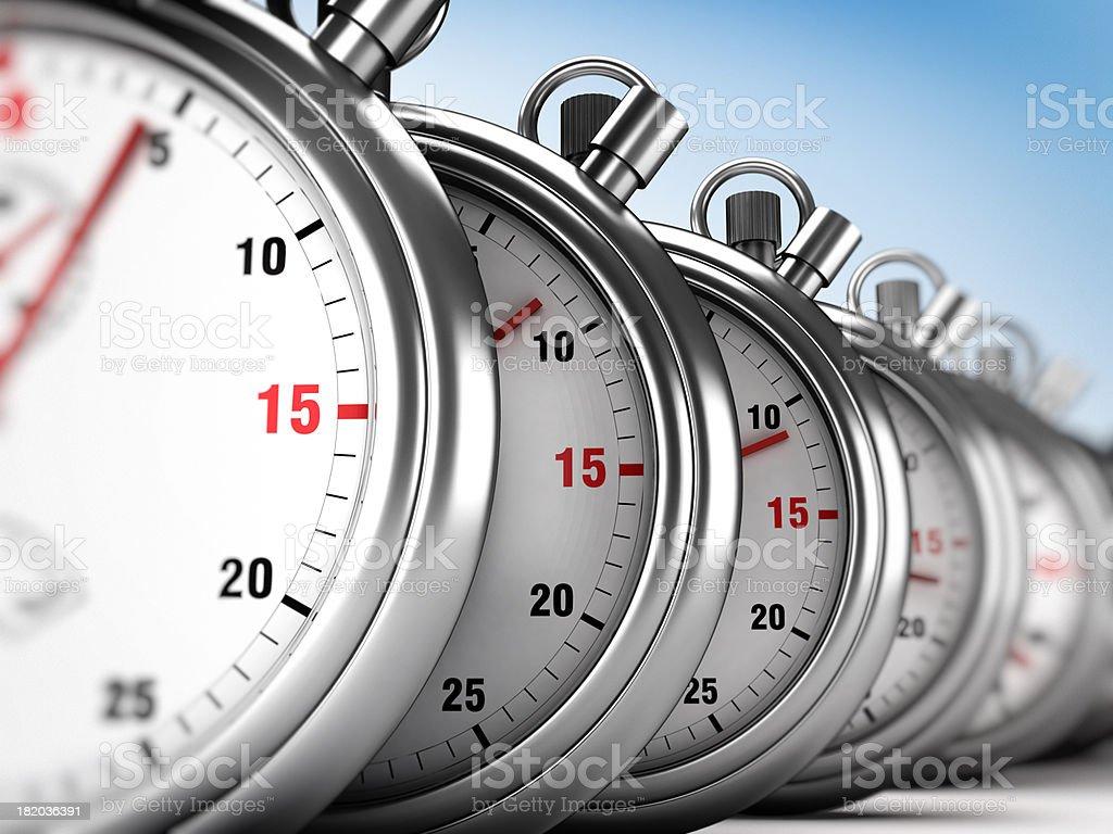 Chronometers background royalty-free stock photo