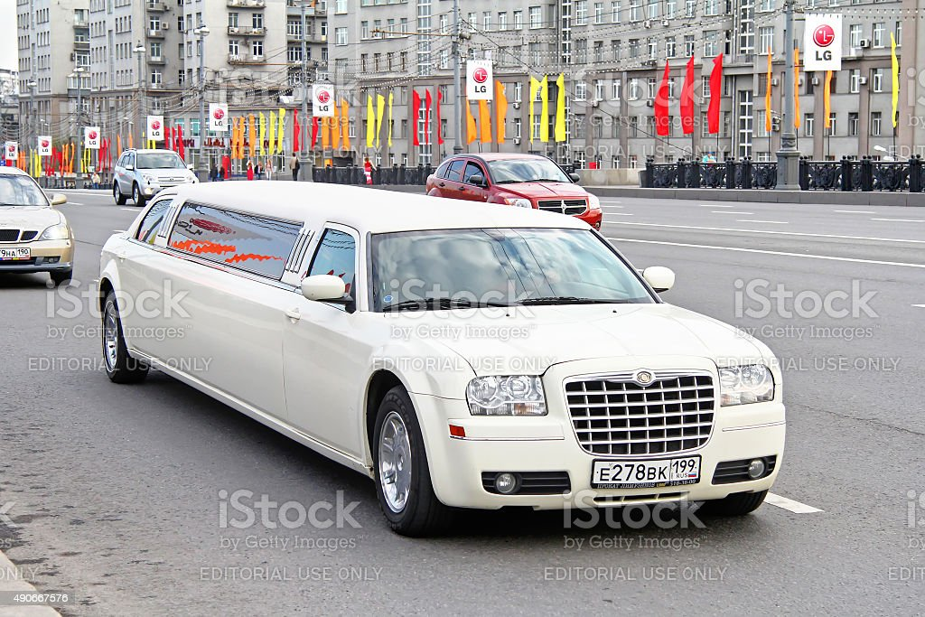 Chrysler 300C stock photo