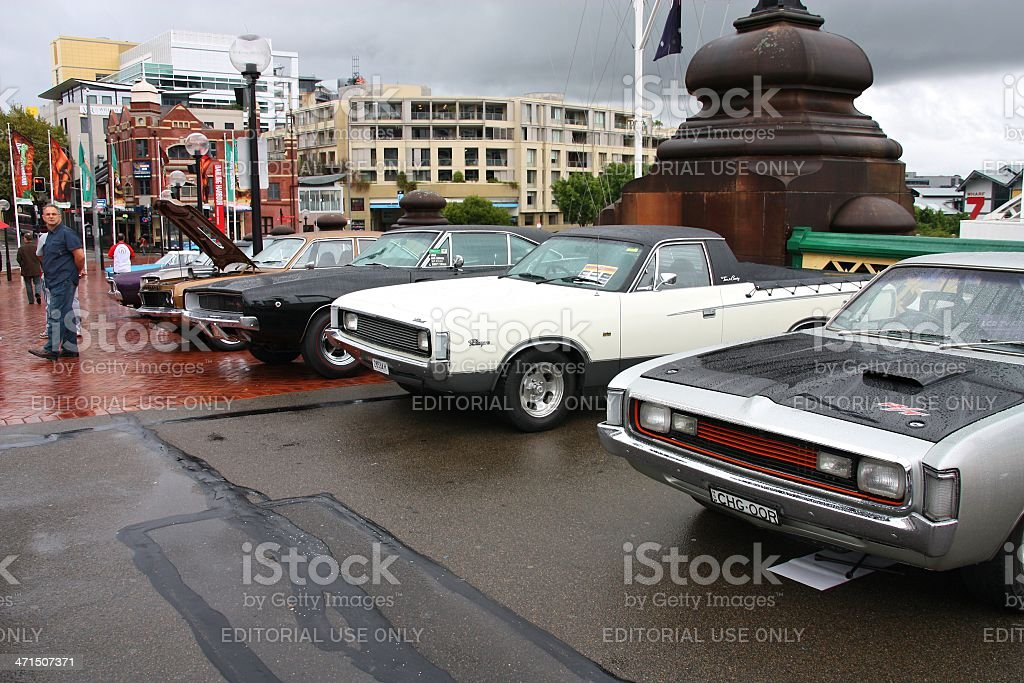 Chrysler and Dodge cars royalty-free stock photo