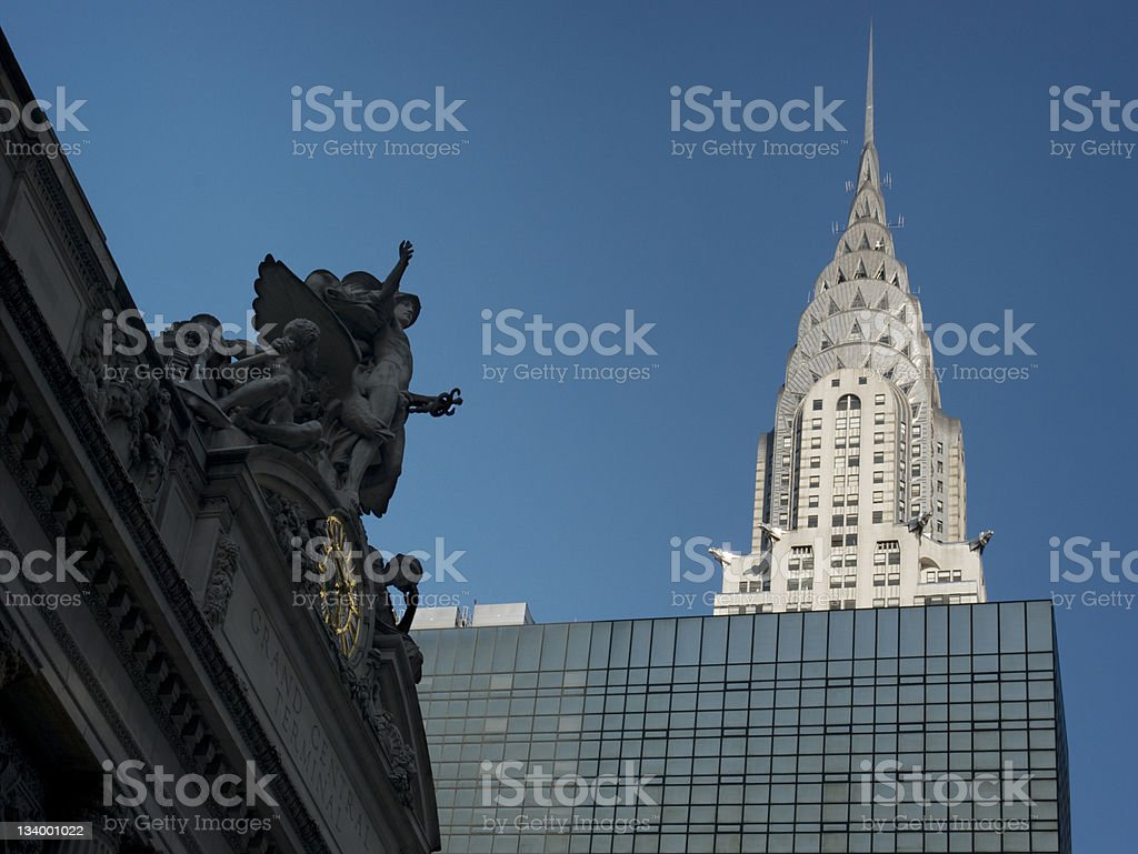 Chrysler Building New York City royalty-free stock photo