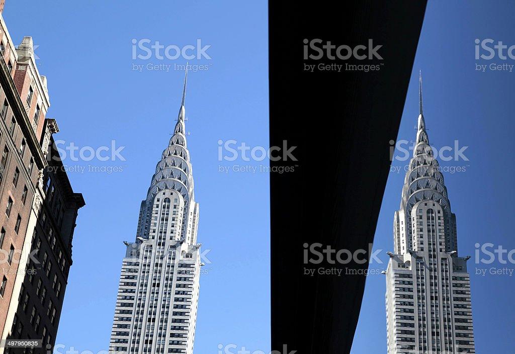 Chrysler Building, New York City, USA royalty-free stock photo