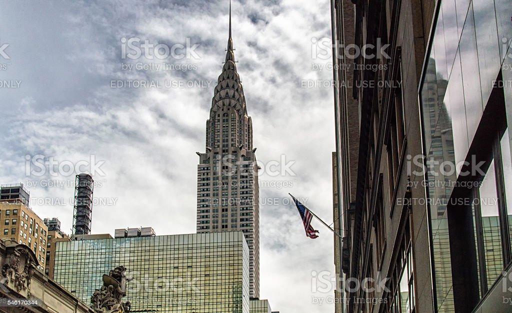 Chrysler building, New York, USA stock photo