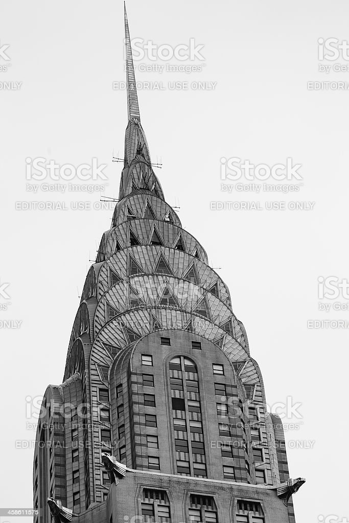 Chrysler Building royalty-free stock photo