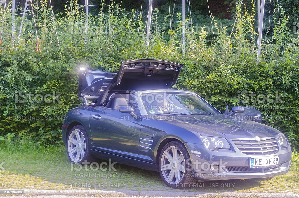 Chrysler Crossfire stock photo