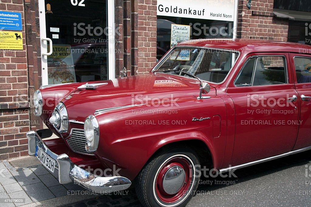Chrysler De Soto oldtimer stock photo