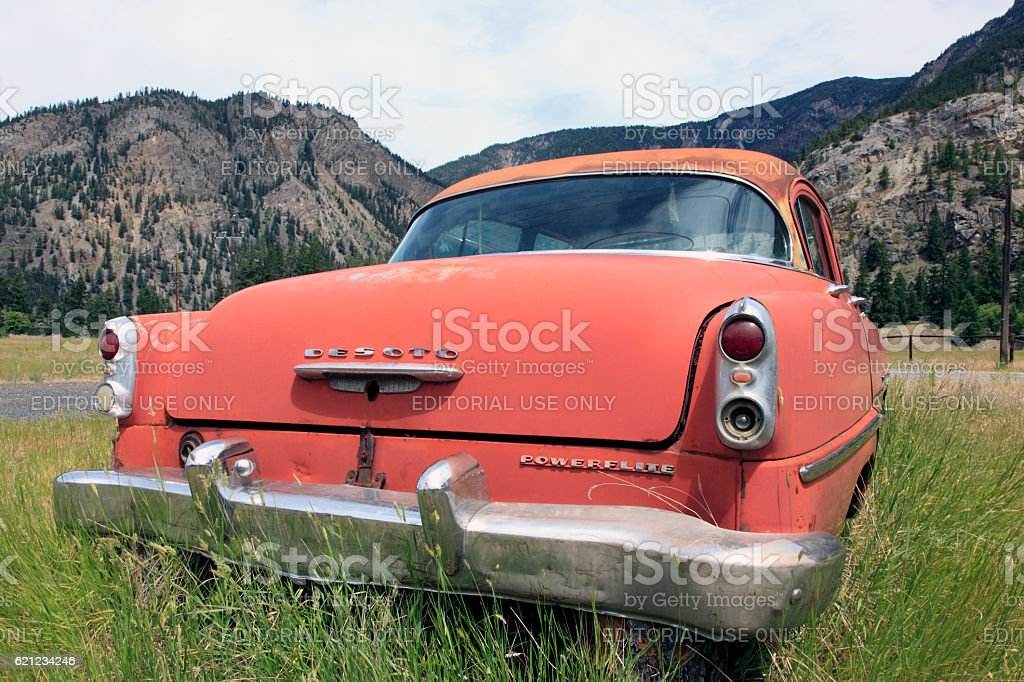 Chrysler DeSoto 1954 Powerflite Classic stock photo