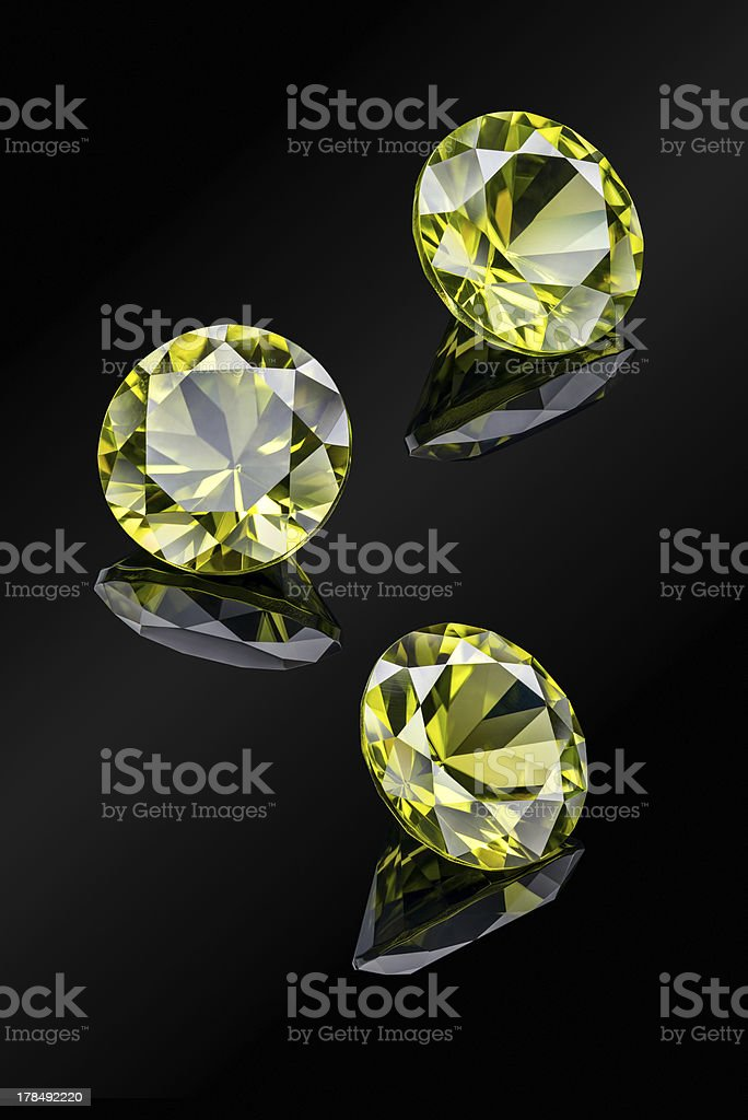Chrysolite royalty-free stock photo