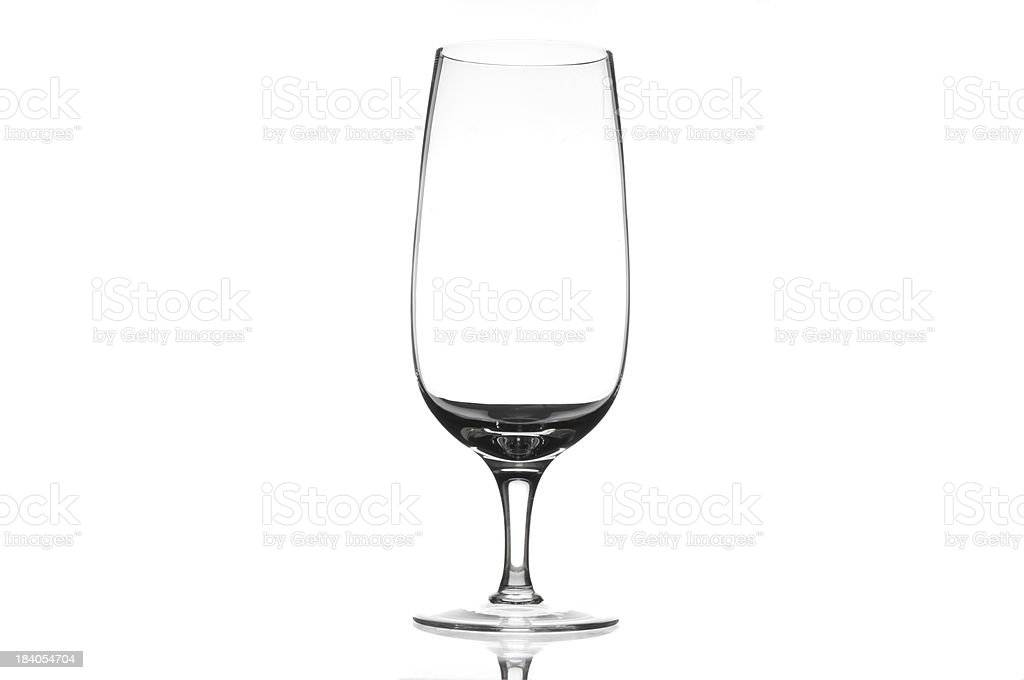 Chrystal beer glass royalty-free stock photo
