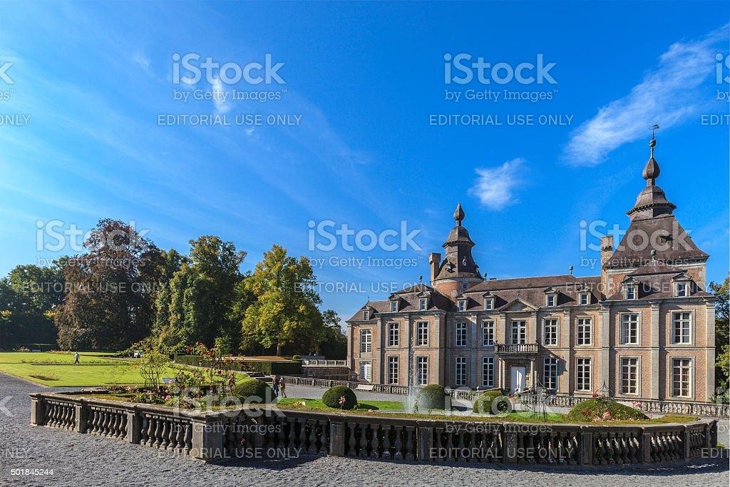 Château of Modave, Belgium stock photo