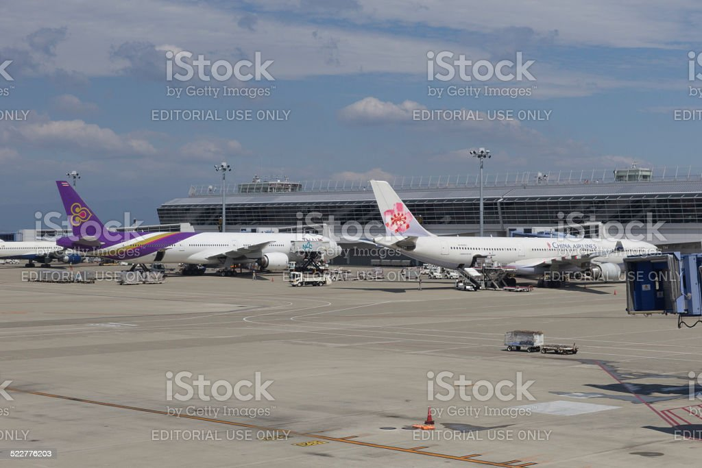 Chubu Centrair International Airport in Japan stock photo