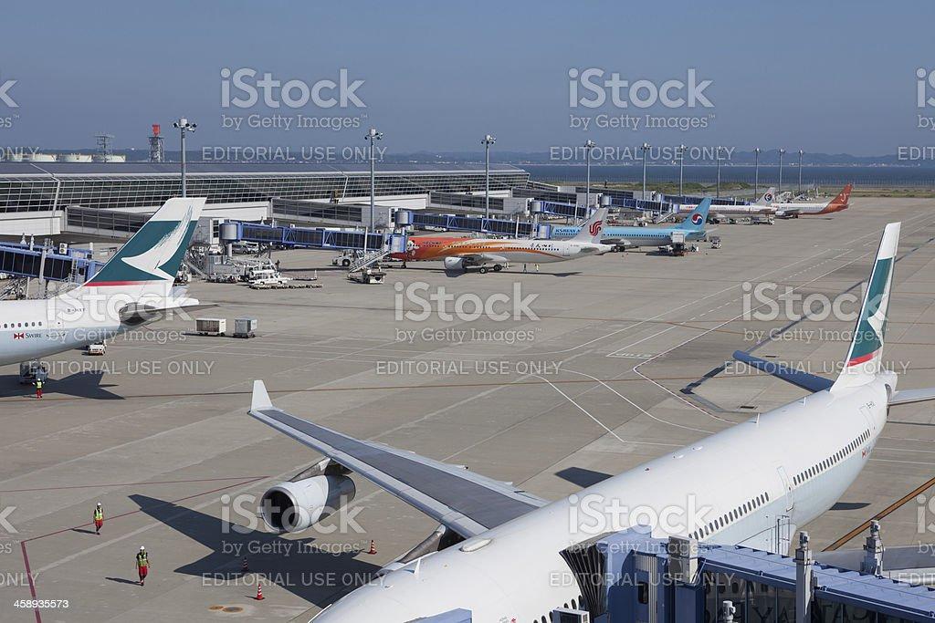 Chubu Centrair International Airport royalty-free stock photo