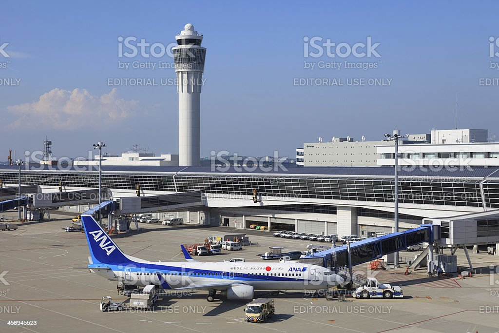 Chubu Centrair International Airport royalty-free stock photo