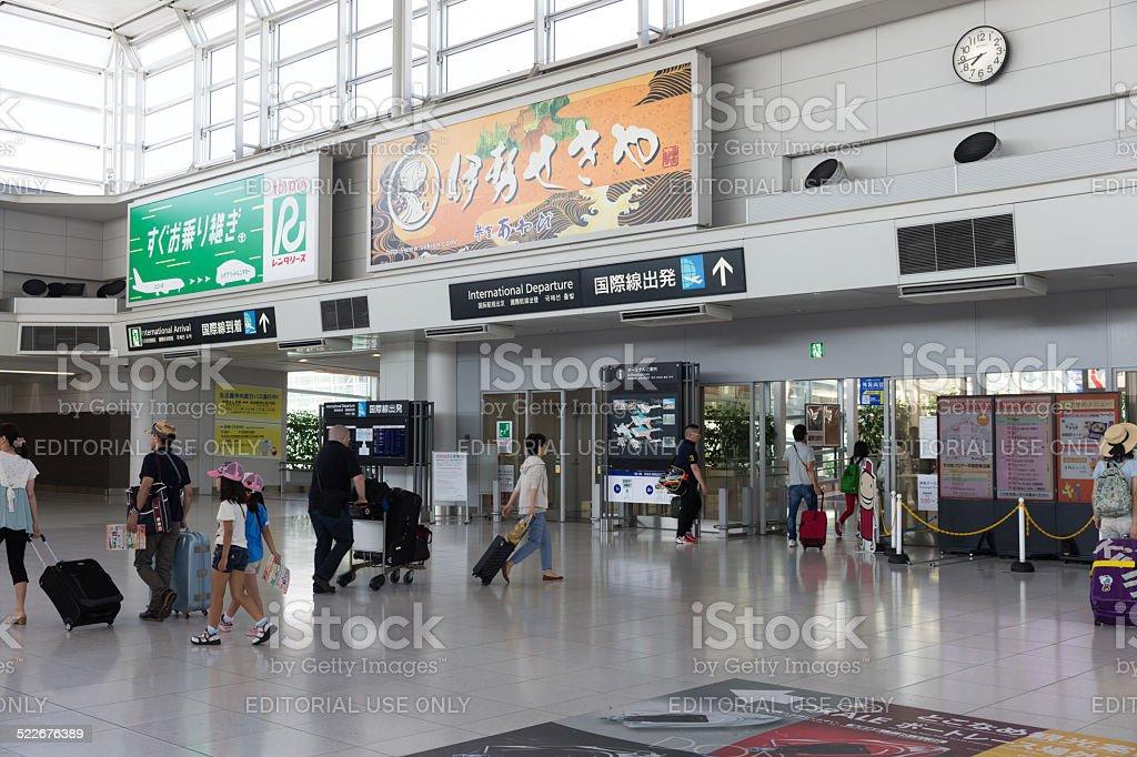 Chubu Centrair International Airport stock photo