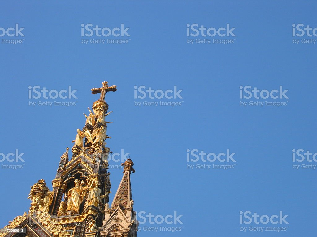 Chuch Steeple royalty-free stock photo