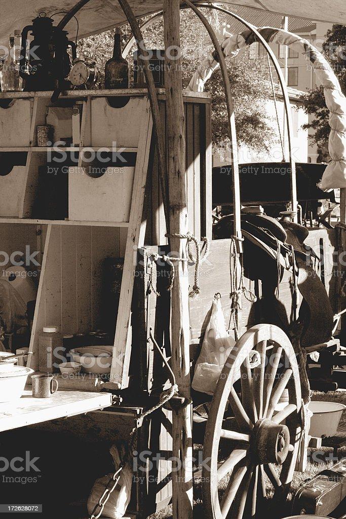 chuck wagon royalty-free stock photo