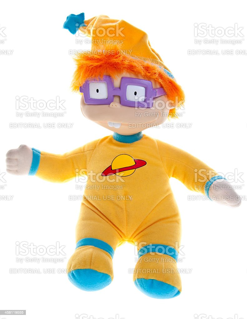Chuckie Finster, Nickelodeon Animated Television Show Rugrats stock photo