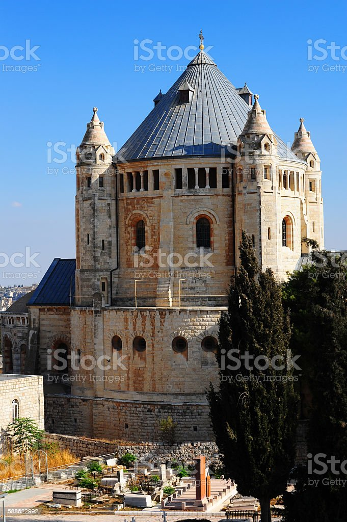 Chucrh Of Dormition stock photo