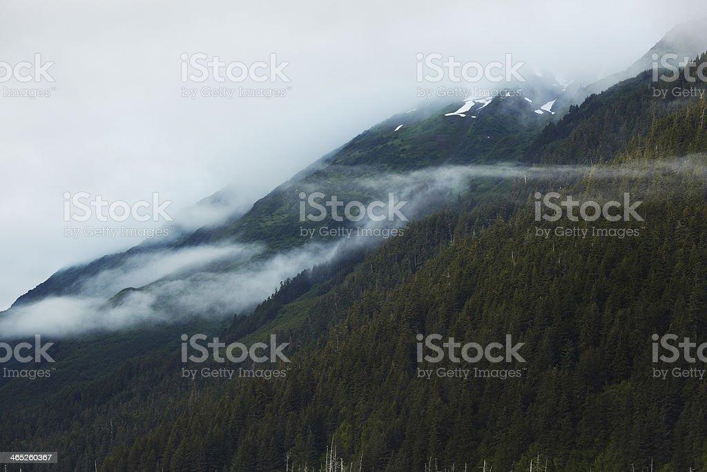 Chugach National Forest and Mountains, Alaska stock photo