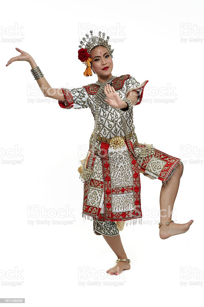 Chuichay Thailand Dancing art royalty-free stock photo