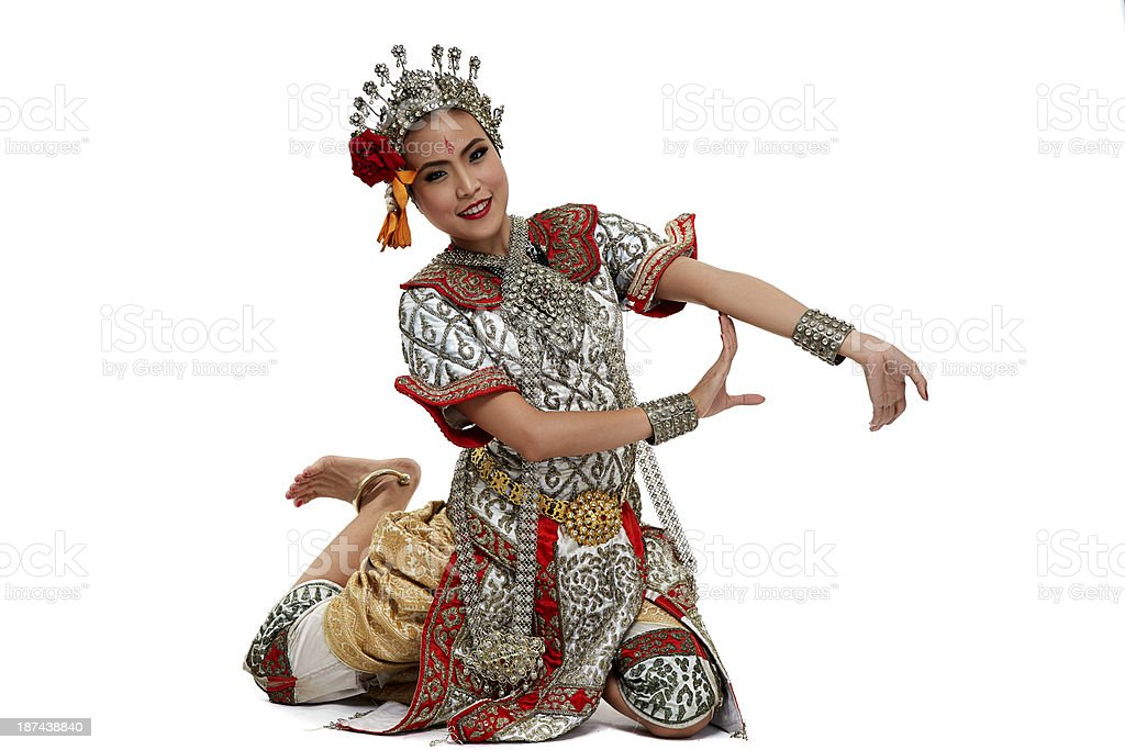 Chuichay Thailand Dancing art royalty-free stock photo