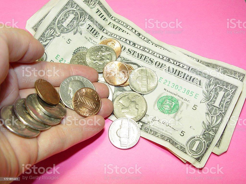 Chump Change / Leftover royalty-free stock photo