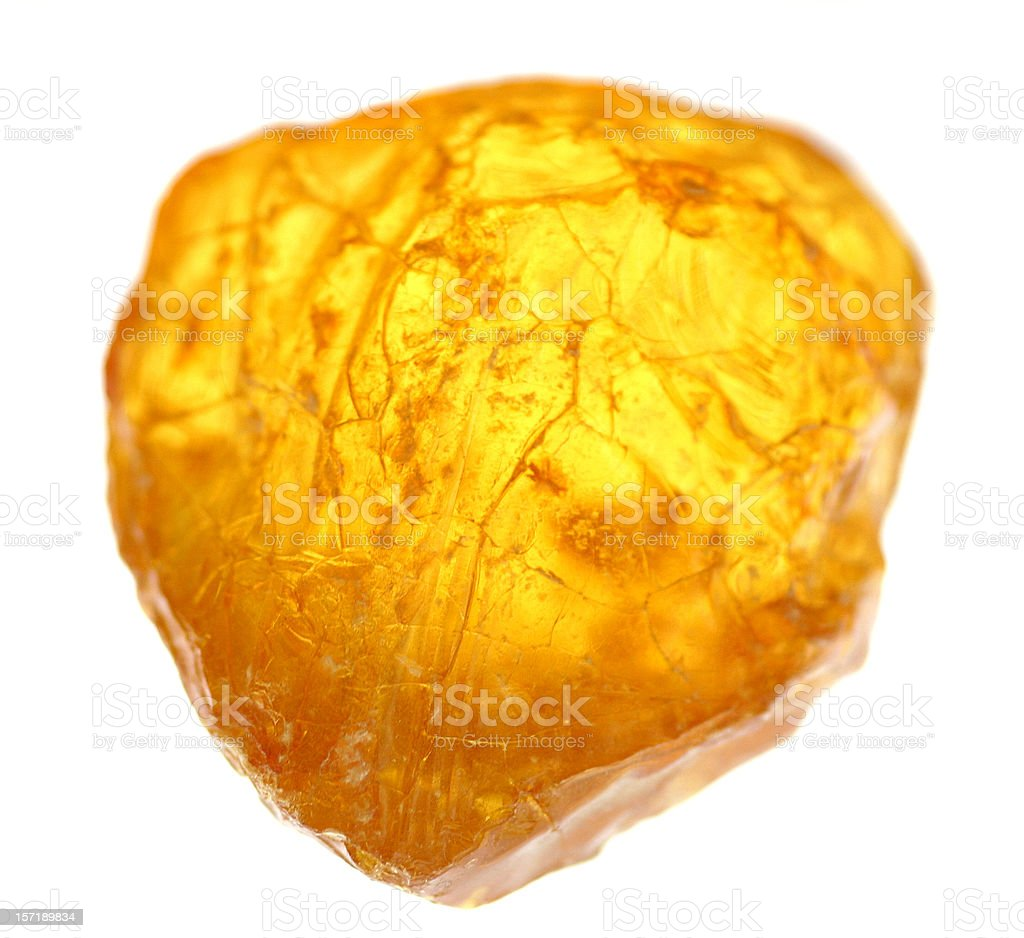 Chunk of Amber royalty-free stock photo