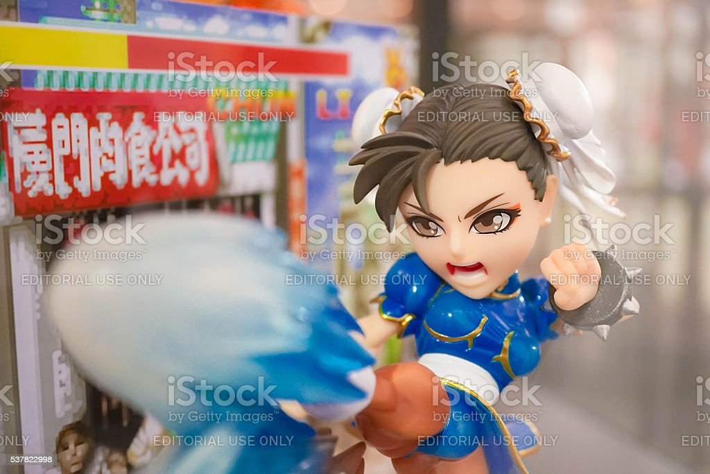 Chun-Li Mascot stock photo