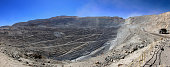 Chuquicamata, world's biggest open pit copper mine, Chile