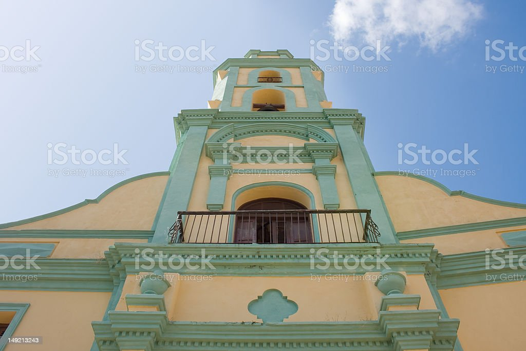 Church and Monastery of Saint Francis, Trinidad, Cuba. royalty-free stock photo
