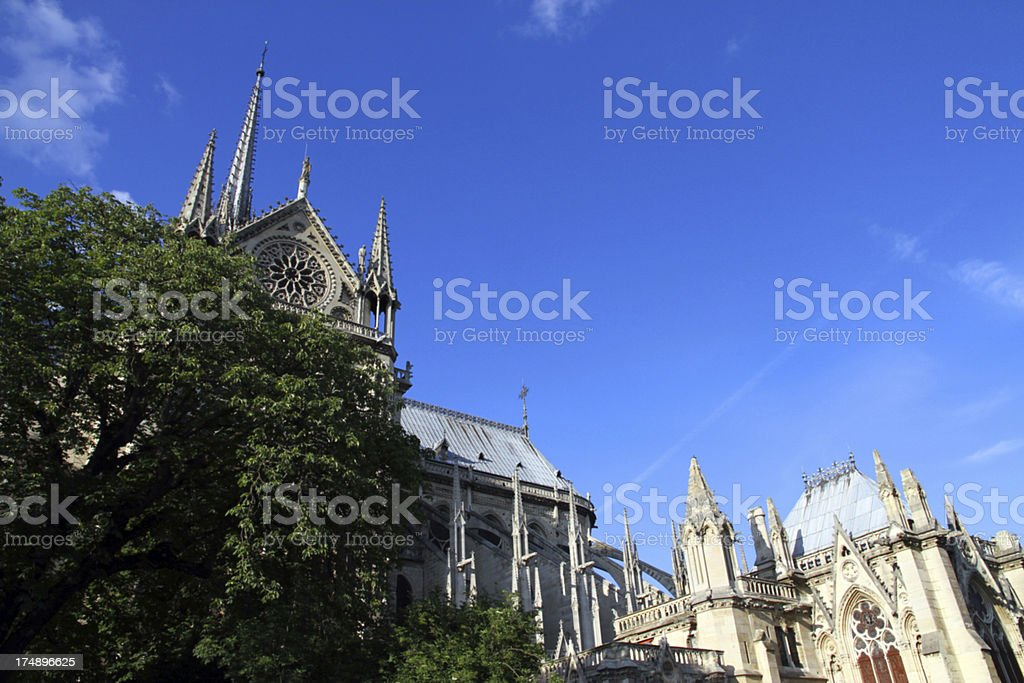 Church and Sky royalty-free stock photo