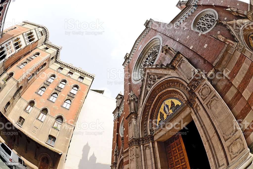 church architect stock photo