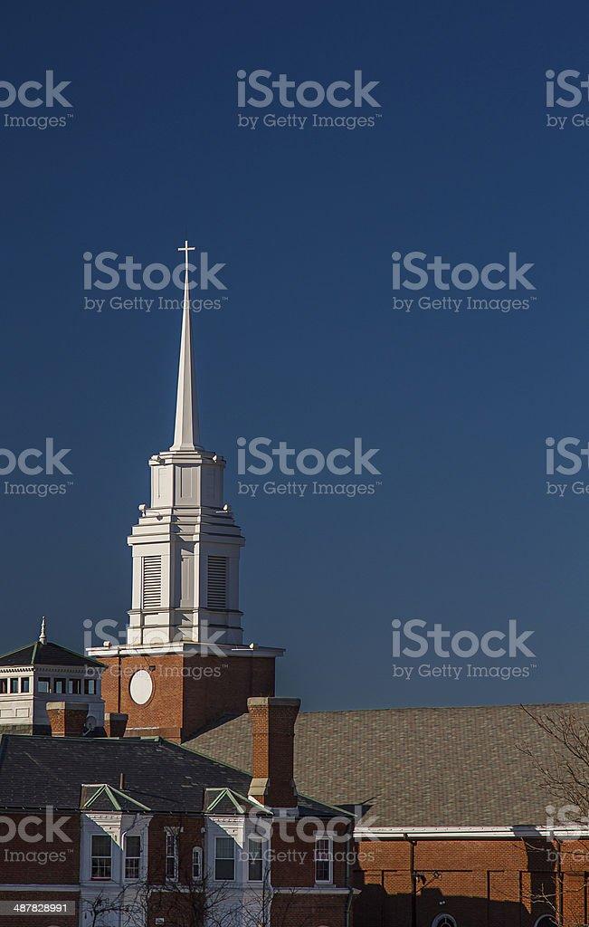 Church architecture stock photo