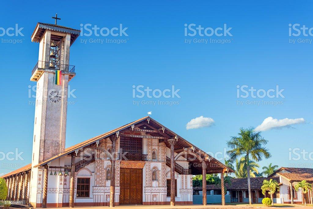 Church at San Ignacio stock photo