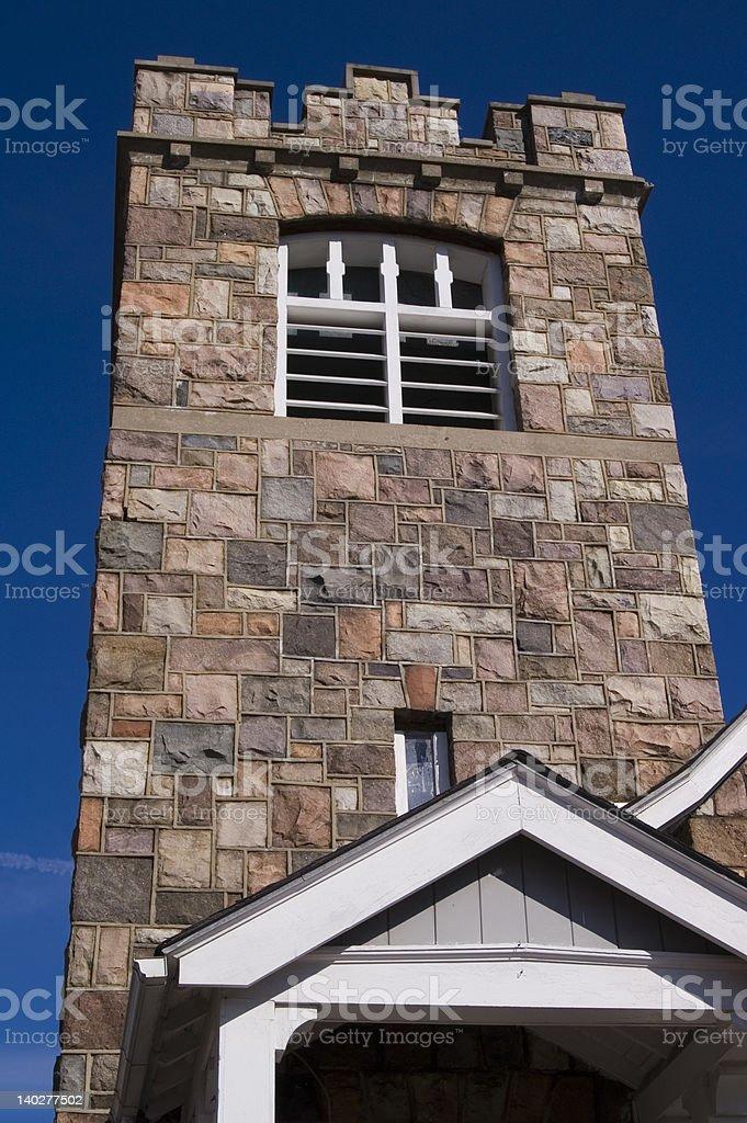 Church Belfry Tower stock photo