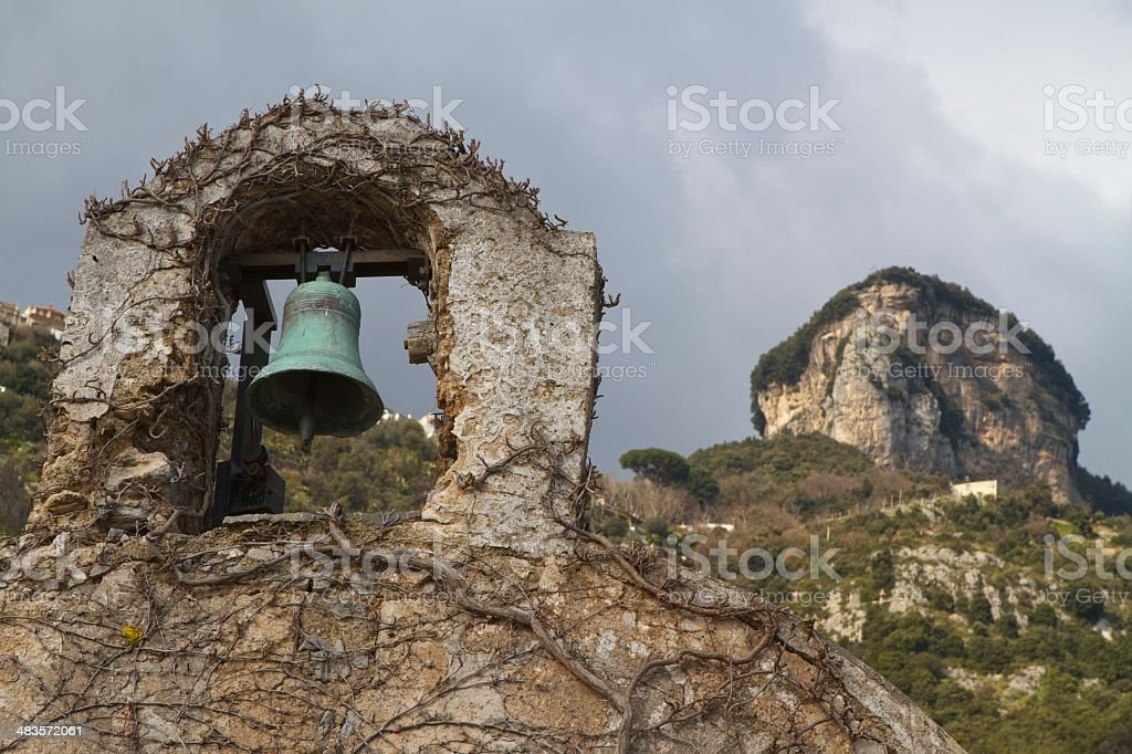 Church bell summit royalty-free stock photo