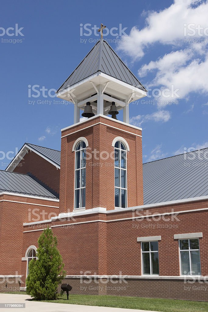 church bell tower royalty-free stock photo