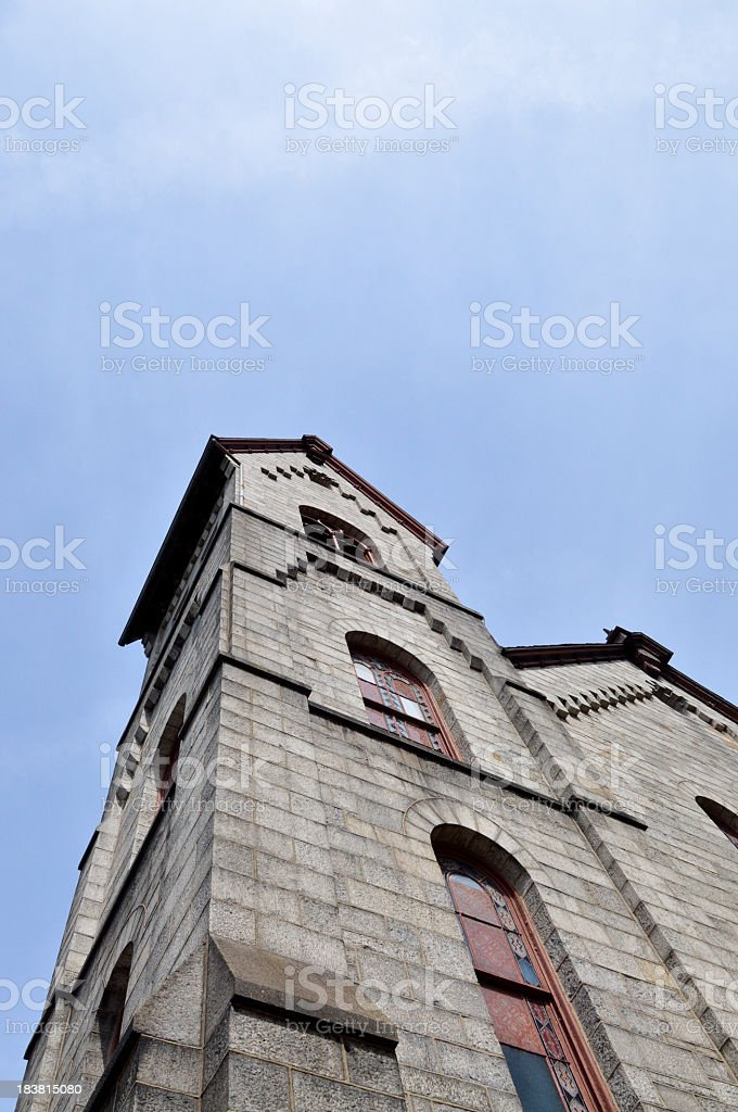 Church Bell Tower stock photo