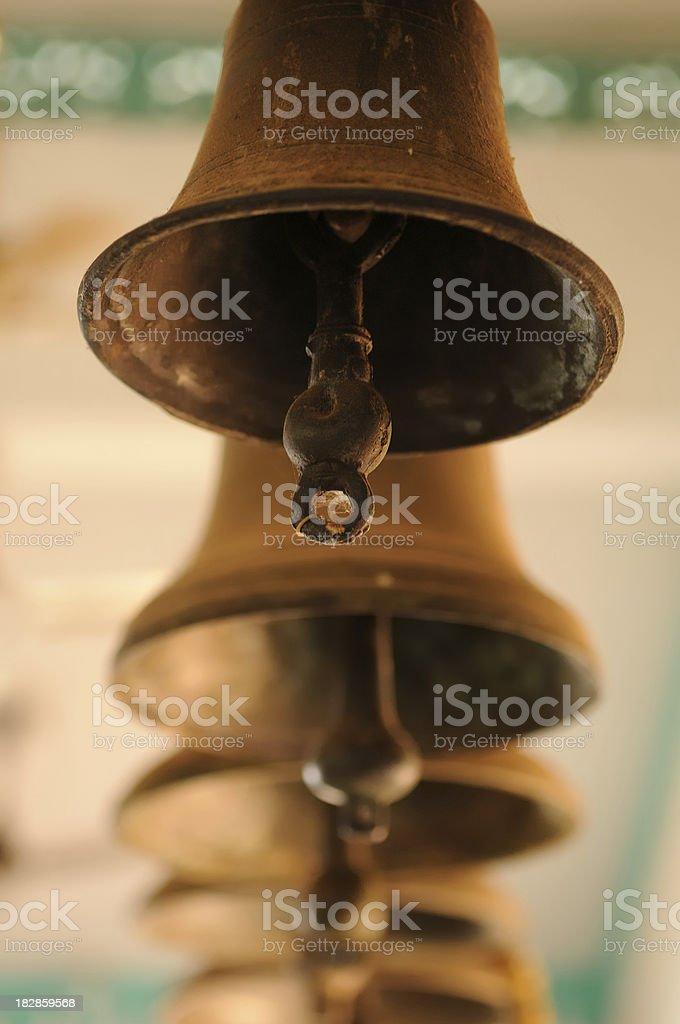 Church Bells, Goa, India stock photo
